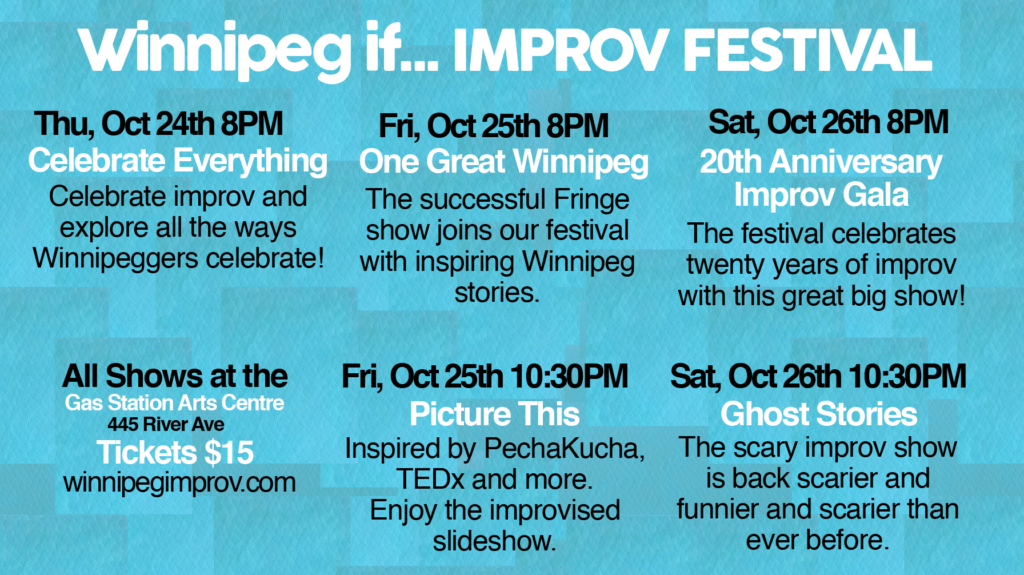 Welcome to the IMPROV FESTIVAL